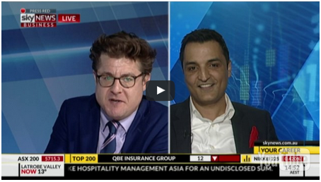 Sky News Business Interview with the Founder and Executive Chairman of InnovaDerma™ – Haris Chaudhry